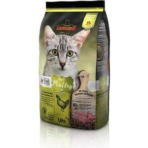 Сухой корм Leonardo Adult Poultry Grain Free беззерновой с птицей для кошек с чувствительным пищеварением 1,8кг (758615) пудовъ мука ржаная обдирная 1 кг