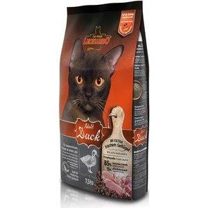 Сухой корм Leonardo Adult Duck с уткой для здоровья кожи и шерсти для кошек 7,5кг (758325/755325)
