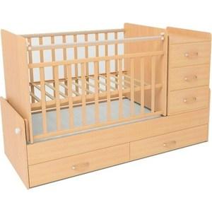 Кроватка СКВ Компани СКВ-5 КС544-0306544036 обычная кроватка скв компани 231119 слоновая кость