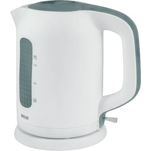 Чайник электрический Mystery MEK-1620 белый/серый