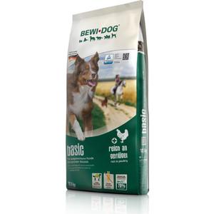 Сухой корм Bewi Dog Basic Rich in Poultry с птицей для взрослых собак с нормальным уровнем активности 12,5кг (509325)