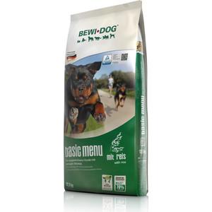 Сухой корм Bewi Dog Basic Menu with Rice с рисом для взрослых собак с нормальным уровнем активности 12,5кг (509425) корм для птиц vitakraft menu vital для волнистых попугаев основной 1кг