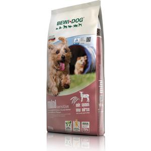 Сухой корм Bewi Dog Mini Sensitive with Lamb & Millet с ягненком и проссом для чувствительных к пище собак малых и средних пород 12,5кг (509725)