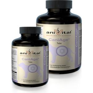 Пищевая добавка Anivital CaniAge Tabs для профилактики возрастных изменений для собак 60таб/140г (523808)