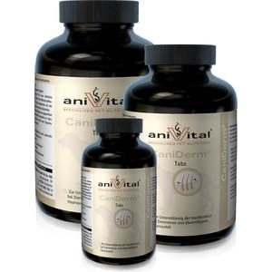 Пищевая добавка Anivital CaniDerm для улучшения состояния кожи и шерсти для собак 60таб/140г (523825)