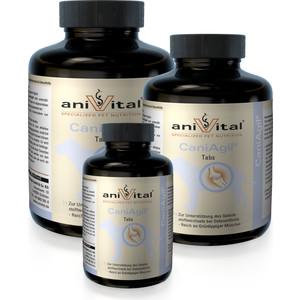 Пищевая добавка Anivital CaniAgil хондропротектор для собак 120таб/280г (523855) пищевая добавка anivital caniderm для улучшения состояния кожи и шерсти для собак 120таб 280г 523835