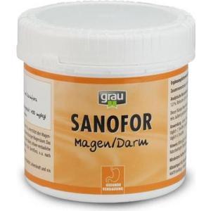 Пищевая добавка Grau Sanafor лечебная грязь для улучшения пищеварения и при проблемах извращенного аппетита для собак и кошек 500г (01083)