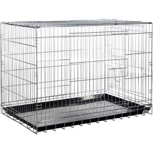 Фото - Клетка KREDO 044С CHROME хромированная для собак клетка для собак i p t s 78 см х 55 см х 61 см