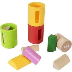 Brio игровой набор с деревянными формочками-сортерами,10 деталей (30173)