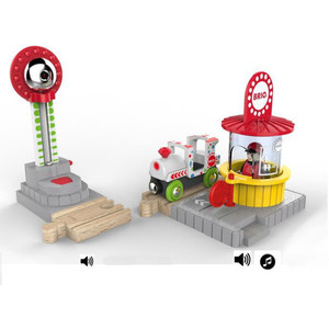 Brio Игровой набор для Парка Аттракционов (33740) погрузчик с вращением с магнитом блист brio