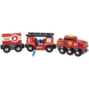 Brio Пожарный поезд (33844)