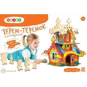 Woody Игрушка Конструктор Терем-Теремок (О0150) терем теремок говорящие книжки мультики 24 24