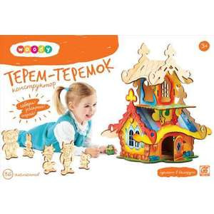 Woody Игрушка Конструктор Терем-Теремок (О0150) конструктор игрушка ogosport ogobild bits hitch