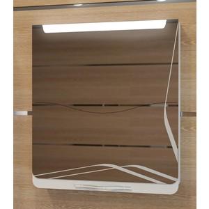 Зеркальный шкаф Velvex Iva 65 белый (nkIV-65.N (В)) тумба velvex iva 65 т iv 65p v