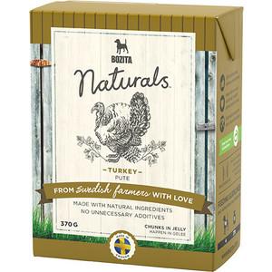 Консервы BOZITA Naturals Turkey кусочки в желе с индейкой для собак 370г (4261)