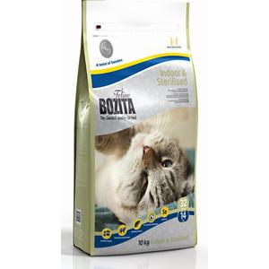Сухой корм BOZITA Funktion Indoor & Sterilised 32/14 для домашних и стерилизованных кошек 10кг (30330) пудовъ мука ржаная обдирная 1 кг