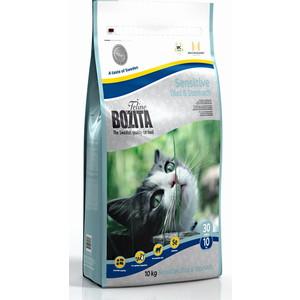 Сухой корм BOZITA Funktion Sensitive Diet & Stomah 30/10 для кошек с чувствительным пищевариением 10кг (30430) пудовъ мука ржаная обдирная 1 кг
