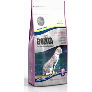 Сухой корм BOZITA Funktion Sensitive Hair & Skin 30/15 для кошек с чувствительной кожей и шерстью 2кг (30520)