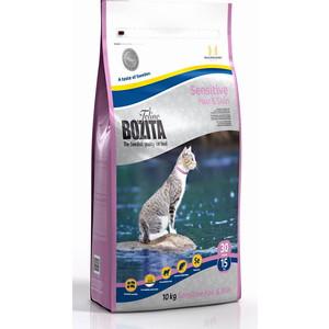 Сухой корм BOZITA Funktion Sensitive Hair & Skin 30/15 для кошек с чувствительной кожей и шерстью 10кг (30530)
