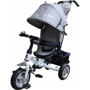 Трехколесный велосипед Lexus Trike Next Pro (MS-0521) бело-серый