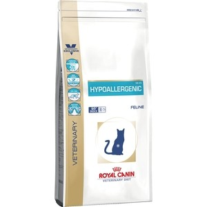 Сухой корм Royal Canin Hypoallergenic DR25 Feline диета при пищевой аллергии для кошек 500г (722005) [wamami]white straight long wig long 60 70cm for 1 3 sd dz dod bjd dollfie 7 8