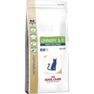 Сухой корм Royal Canin Urinary S/O High Dilution UHD34 Feline диета при профилактике МКБ для кошек 1,5кг (729015)