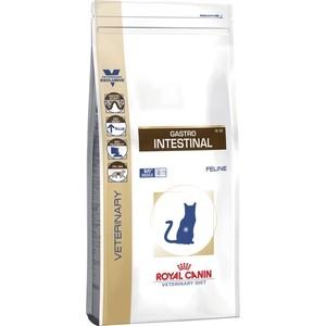 Сухой корм Royal Canin Gastro Intestinal GI32 Feline диета при заболеваниях печени и нарушениях пищеварения для кошек 2кг (733020)