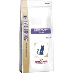 Сухой корм Royal Canin Sensitivity Control SC27 Feline диета при пищевой аллергии для кошек 1,5кг (736015) royal canin sensitivity control диетический консервированный корм для собак 420 г