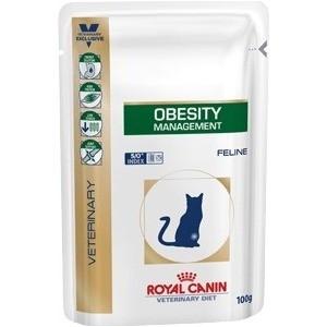 Паучи Royal Canin Obesity Management Feline диета при избыточном весе для кошек 100г (751001) пудовъ мука ржаная обдирная 1 кг