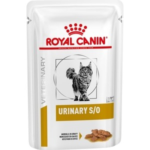 Паучи Royal Canin Urinary S/O Feline диета при заболеваниях мочевыводящих путей для кошек 100г (754001) fat cat extensive flex neck magic extension arm jaws mount for gopro hero 4 3 3 2 1 black