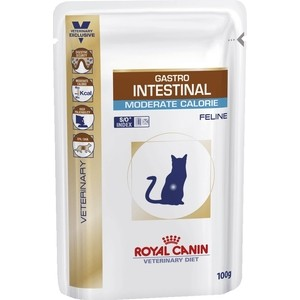 Паучи Royal Canin Gastro Intestinal Moderate Calorie Feline диета при нарушении пищеварения/панкреатит для кошек 100г (767001) design waterproof travel backpack outdoor mountaineering backpack patchwork super large luggage storage internal drawstring bag