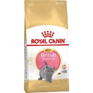 Сухой корм Royal Canin Kitten British Shorthair для котят британской короткошерстной породы 2кг (541320)