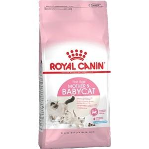 Сухой корм Royal Canin Mother & Babycat для котят от 1 до 4 месяцев и кошек в период беременности и лактации 4кг (534040) сухой корм royal canin mini dermacomfort дл собак мелких пород склонных к кожным раздраженим и зуду 2кг 380020