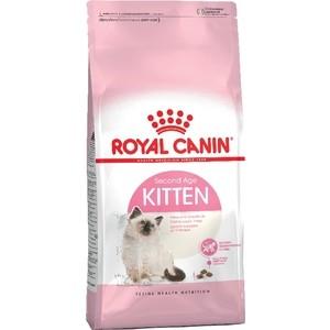 Сухой корм Royal Canin Kitten для котят до 12 месяцев 10кг (535100) сухой корм royal canin mini dermacomfort дл собак мелких пород склонных к кожным раздраженим и зуду 2кг 380020