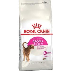 Сухой корм Royal Canin Exigent Aroma для кошек привередливых к аромату еды 10кг (473100) корм сухой royal canin exigent 35 30 savoir sensation для кошек привередливых к вкусу продукта 400 г