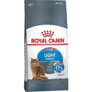Сухой корм Royal Canin Light Weight Care для кошек склонных к полноте 2кг (644020) корм сухой royal canin mini light weight care для взрослых собак склонных к ожирению 2 кг