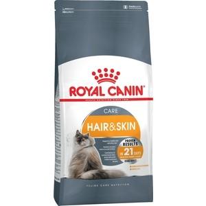 Сухой корм Royal Canin Hair & Skin Care поддержание здоровья кожи и шерсти для кошек 10кг (642100) сухой корм royal canin mini dermacomfort дл собак мелких пород склонных к кожным раздраженим и зуду 2кг 380020
