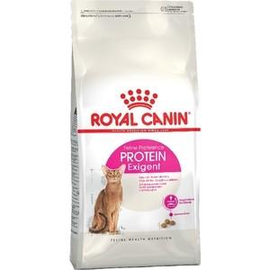 Сухой корм Royal Canin Exigent Protein для кошек привередливых к составу продукта 10кг (472100) корм сухой royal canin exigent 35 30 savoir sensation для кошек привередливых к вкусу продукта 400 г