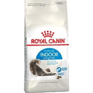 Сухой корм Royal Canin Indoor Long Hair 35 для длинношерстных кошек живущих в закрытом помещении 10кг (492100) сухой корм royal canin mini dermacomfort дл собак мелких пород склонных к кожным раздраженим и зуду 2кг 380020