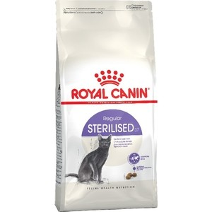 Сухой корм Royal Canin Sterilised 37 для стерилизованных кошек 2кг (496020) корм сухой royal canin exigent 35 30 savoir sensation для кошек привередливых к вкусу продукта 400 г