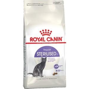 Сухой корм Royal Canin Sterilised 37 для стерилизованных кошек 10кг (496100) корм сухой royal canin exigent 35 30 savoir sensation для кошек привередливых к вкусу продукта 400 г