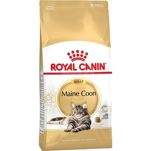 Сухой корм Royal Canin Adult Maine Coon для кошек породы мейн-кун 4кг (542040) консервы royal canin maine coon adult для кошек породы мейн кун в возрасте старше 15 месяцев мелкие кусочки в соусе 85 г