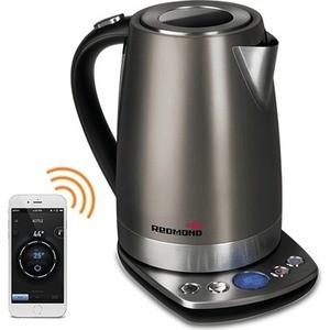 Чайник электрический Redmond RK-M173S-E, серый кофеварка redmond rcm 1505 s skycoffee