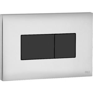Клавиша пневматическая OLI Karisma (641019) хром, кнопка черная