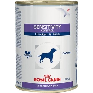 Консервы Royal Canin Sensitivity Control Canine Chicken & Rice диета с курицей и рисом при пищевой аллергии для собак 420г (652004) сухой корм royal canin mini dermacomfort дл собак мелких пород склонных к кожным раздраженим и зуду 2кг 380020