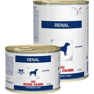 Консервы Royal Canin Renal Canine диета при хронической почечной недостаточности для собак 410г (655004) корм для собак royal canin роял канин vet diet renal при хронической почечной недостаточности конс 430г