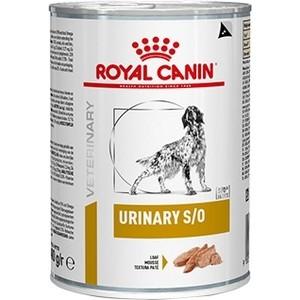Консервы Royal Canin Urinary S/O Canine диета при мочекаменной болезни для собак 410г (656410) royal canin royal canin urinary s o lp18 для взрослых собак при мкб 2 кг
