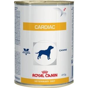 Консервы Royal Canin Cardiac Canine диета при сердечной недостаточности для собак 410г (665004) консервы royal canin urinary s o canine диета при мочекаменной болезни для собак 410г 656410