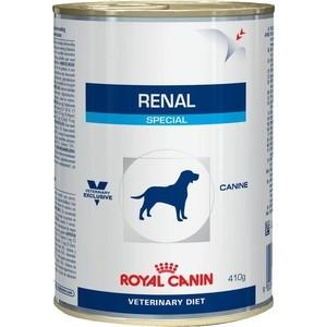 Консервы Royal Canin Renal Special Canine диета при хронической почечной недостаточности для собак 410г (793002) консервы royal canin renal special canine диета при хронической почечной недостаточности для собак 410г 793002