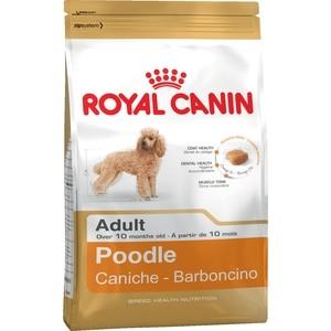 Сухой корм Royal Canin Adult Poodle для собак породы Пудель от 10 месяцев 1,5кг (687015) корм флатазор купить в ульяновске